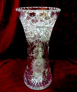vintage decoVoo,crystal glass